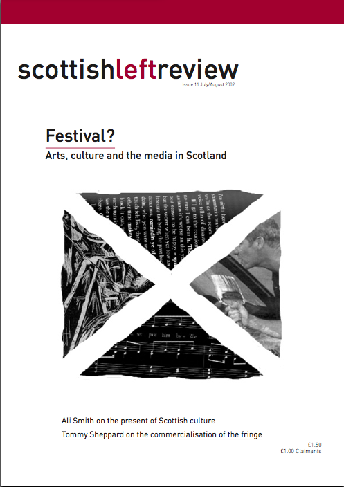 Scottish Left Review Issue 11 Jul/Aug 2002