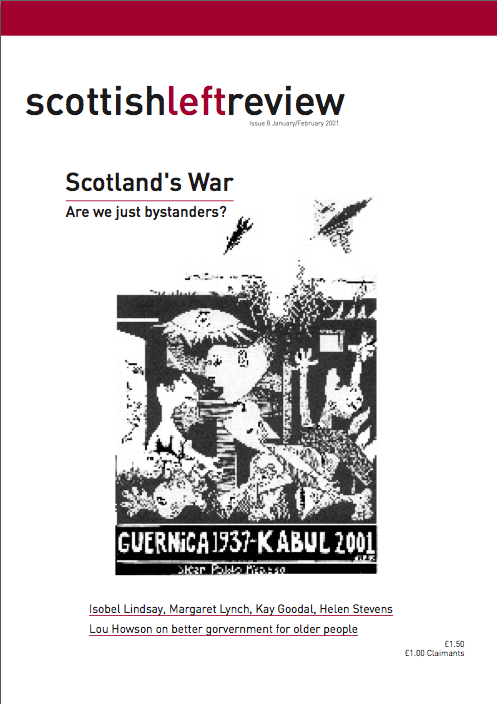 Scottish Left Review Issue 8 Jan/Feb 2002