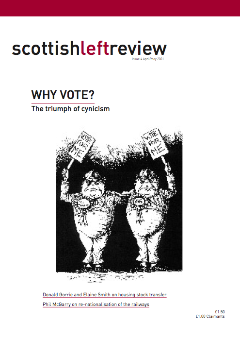 Scottish Left Review Issue 4 Apr/May 2001