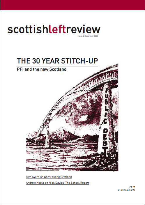 Scottish Left Review Issue 2 Dec 2000