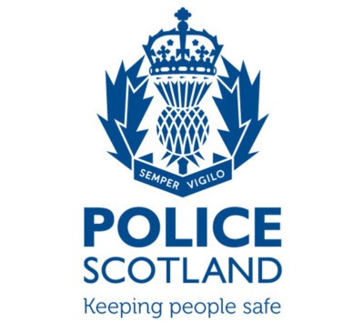 Police Scotland Logo and strapline 'keeping people safe'