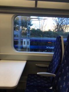 Trains at Edinburgh Waverley