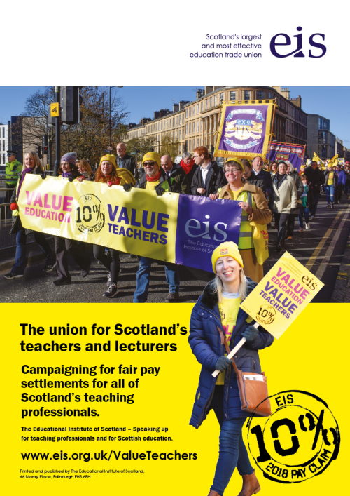 Educational Institute of Scotland Advert