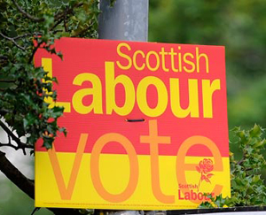 Election placard