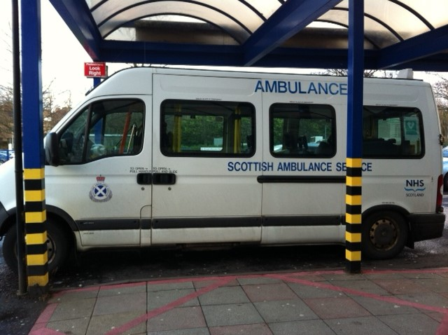 Colour Photo of Ambulance