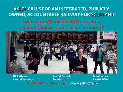 ASLEF advert