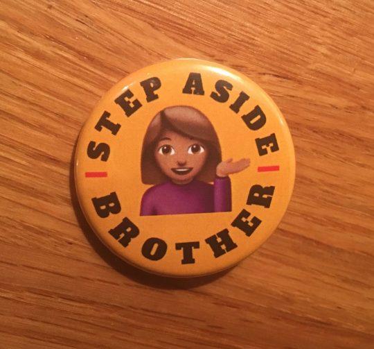 Campaign Pin Badge