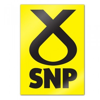 SNP Election Poster