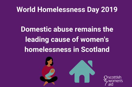 Advert for World Homelessness Day 2019