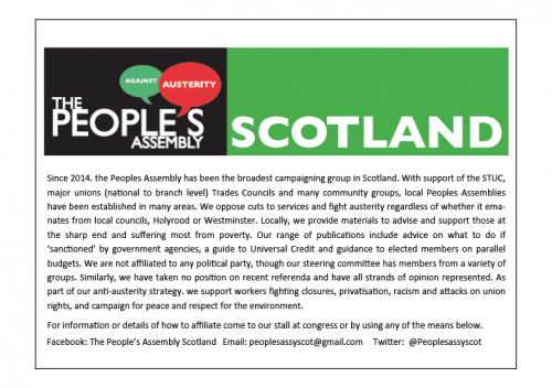 Peoples Assembly Scotland