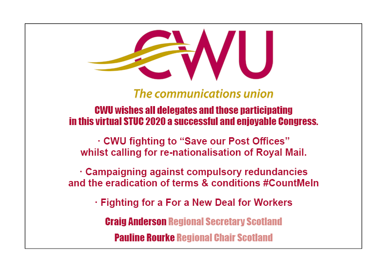 CWU Advert