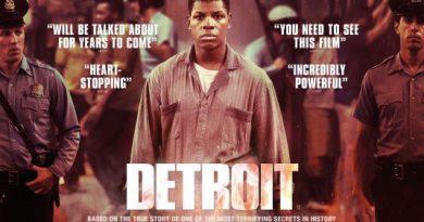 Film Publicity Poster for Detroit